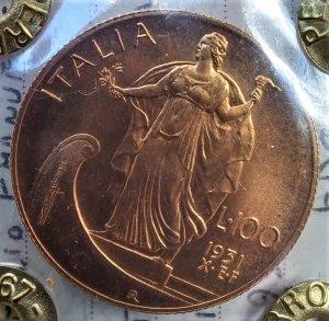 100 Lire 1931 X