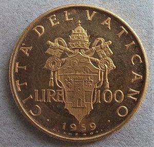 Giovanni XXIII 100 Lire 1959 ...