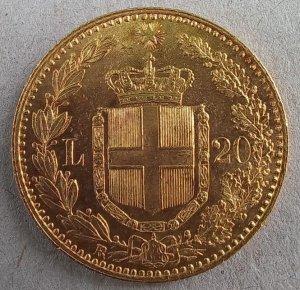 Ottimo 20 Lire 1897 ...