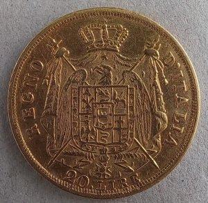 Napoleone I 20 Lire 1808 ...