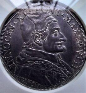 Piastra 1684 anno VIII Esemplare ...