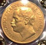 Wonderful 50 Lire 1911 ...