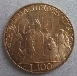 Superb 100 Lire 1950 ...
